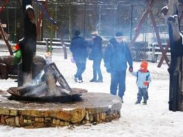 Cestu do ZOO si první den roku 2015 našlo 5500 návštěvníků (c) Jana Myslivečková