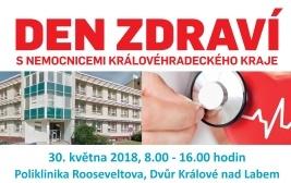Den zdraví s nemocnicemi Královéhradeckého kraje