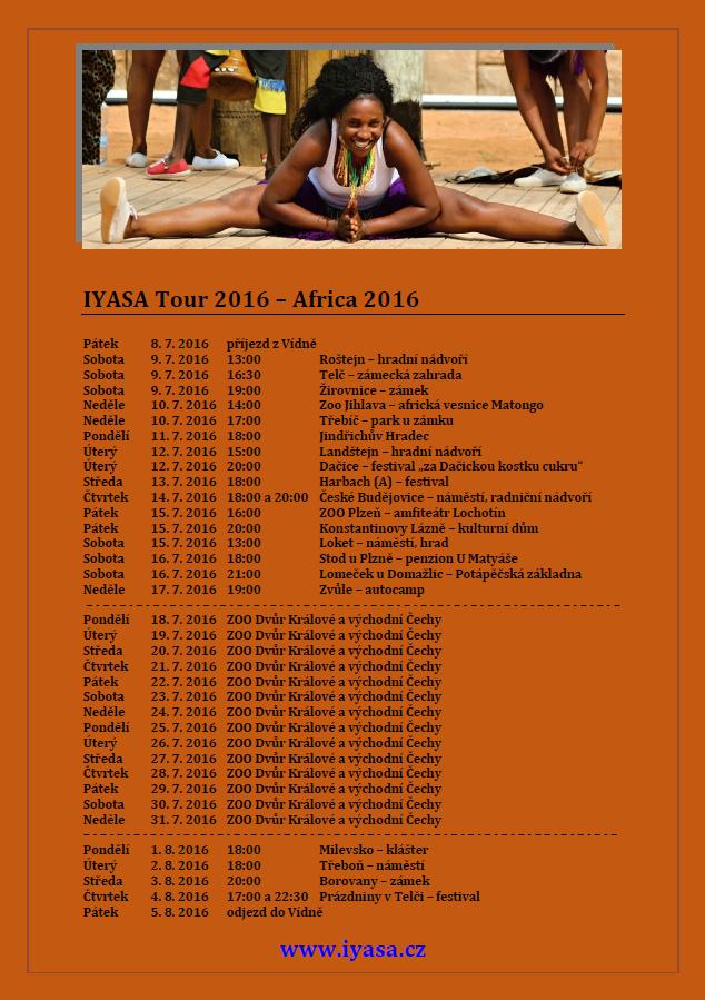IYASA Tour 2016 – Africa 2016