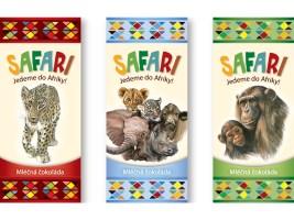 Jedinečná čokoládová show odstartuje prodej nové čokoládky SAFARI