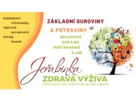 Prodejna zdravé výživy Jeřabinka ve Dvoře Králové nad Labem