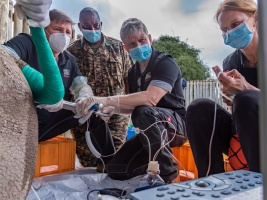 Rekordní čtyři nová embrya a přípravy na další kroky v misi na záchranu severního bílého nosorožce. Foto (c)  Foto (c) Rio The Photographer