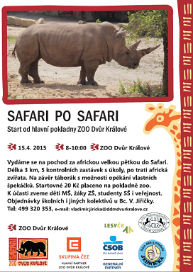 Safari po Safari 2015