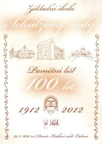 100 let ZŠ Schulzovy sady