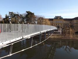 Slavnostní otevření Komenského mostu