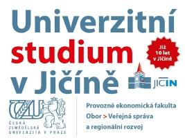 Univerzitní studium v Jičíně