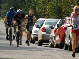 VIII. Chlumecký triatlonek 2013