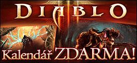 Diablo - kalendář zdarma