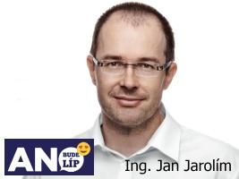 Ing Jan Jarolím, starosta města