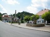 Obec Pecka - náměstí