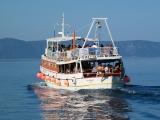 Výletní loď Dva Brata vyplouvá směr Korčula
