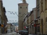 Havlíčkova ulice - pohled na Šindelářskou věž