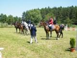 Fotografie z jezdeckých skokových závodů v Hustířanech 2012