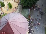 Jičín na fotografiích z věže Valdické brány