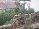 Pohled na Dvůr Králové nad Labem z věže Kostela sv. Jana Křtitele