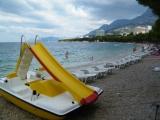 Makarska - pláž