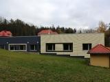 Nový objekt laboratoří projektovaný jako základna pro výstavbu operačních sálů