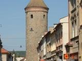Havlíčkova ulice ve Dvoře Králové nad Labem se Šindelářskou věží