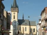 Palackého ulice ve Dvoře Králové nad Labem