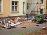 Rekonstrukce sociálních zařízení na hlavní budově nemocnice