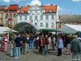 Majáles na náměstí T.G.M. ve Dvoře Králové nad Labem