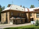 Tehdejší vrátnice a administrativní budova Městské nemocnice, a.s.