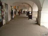 Podloubí na náměstí v Jaroměři
