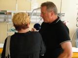 Pavel Bořek během rozhovoru