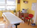Jedno z pracovišť rehabilitace na poliklinice