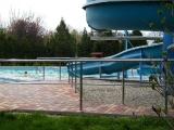 Venkovní bazén - termální koupaliště ve Velkém Mederu
