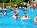 Plavecký bazén na Tyršově koupališti ve Dvoře Králové nad Labem