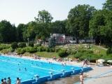 Restraurace a plavecký bazén na Tyršově koupališti ve Dvoře Králové nad Labem