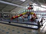 Rodinný bazén s interaktivní vodní hrou