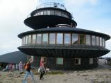 Polská bouda s meteorologickou stanicí