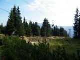 Lanovka z Růžové hory do Pece pod Sněžkou