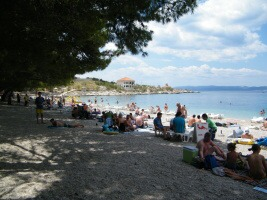Makarska, pláž